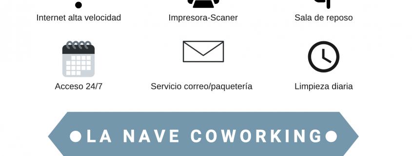 servicios de la nave coworking